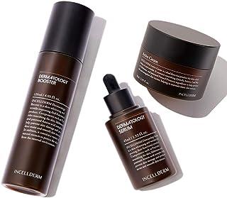 INCELLDERM Dermatology First Package Booster+Serum & Active Cream ブースター120ml+セラム45ml+クリーム 50ml [並行輸入品]