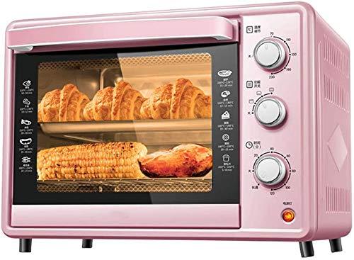 Temperatura del horno mini-horno ajustable 0-230 y 120 minutos Tiempo de tiempo...