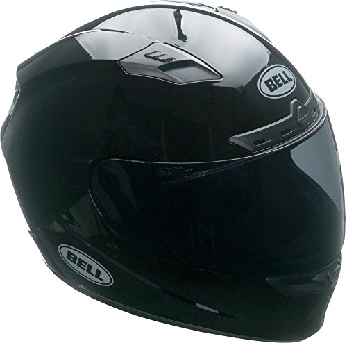Bell Qualifier DLX Full-Face Motorcycle Helmet (Solid Black, X-Large)