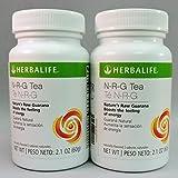 Herbalife N-r-g Nature's Raw Guarana Tea Original 2.12 oz (2 botellas), 2