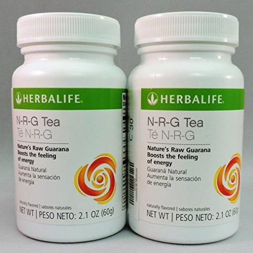 Herbalife N-r-g Nature's Raw Guarana Tea-Original 2.12oz (2 Bottles) (2)