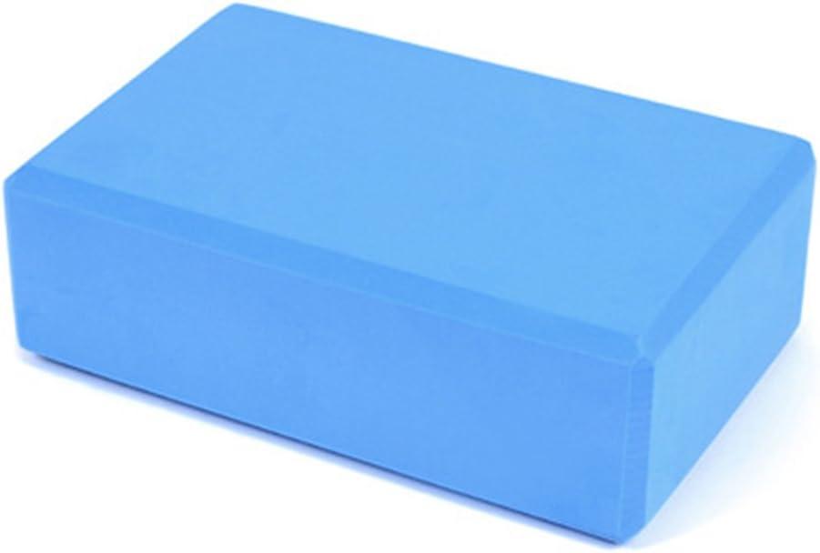 Gemini/_mall Yoga Block Yoga Pilates EVA Foam Brick Stretch Health Fitness Exercise Tool