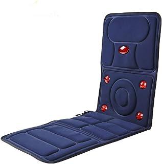 Ddl Masaje eléctrico portátil colchón de Masaje de Espalda calefacción cojín Multi-función de luz roja 9 Grupo de Ministerio del Interior y el Uso del automóvil