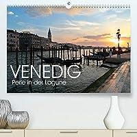 Venedig - Perle in der Lagune (Premium, hochwertiger DIN A2 Wandkalender 2021, Kunstdruck in Hochglanz): Venedig ist eine der schoensten Staedte, aber auch gefaehrdetsten Staedte der Welt, die es unbedingt zu erhalten und zu schuetzen gilt. (Monatskalender, 14 Seiten )