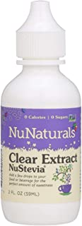 Sponsored Ad - NuNaturals NuStevia Clear Extract Stevia Natural Liquid Sweetener, 2 Ounce