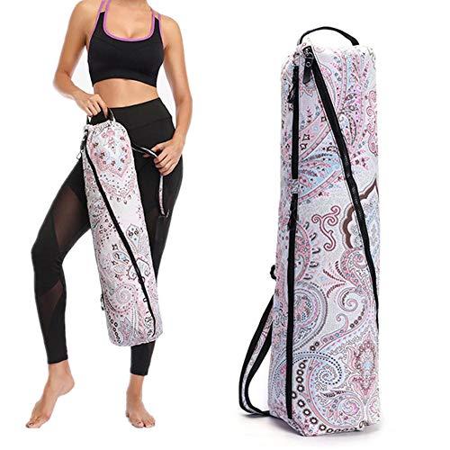 zhppac Bolsa De Yoga Funda Esterilla Yoga Ejercicio Mat Bolsa Bolsas de Yoga para Mujeres Yoga Mat Bolsa Grande Bolsas de Transporte de Esterilla de Yoga 03,-