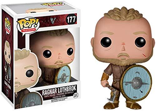 MMZ Pop! TV: Vikings figurine #177 Ragnar Lothbrok Collectible Figure, Multicolor