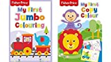 Alligator Products Fisher Price My First Jumbo - Libro para colorear (2 libros)