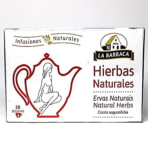La Barraca Infusión Laxante 12 unidades x 20 Sobres (240 Sobres) Cassia Angustifolia - Infusiones Naturales Hierbas Naturales en bolsitas de te