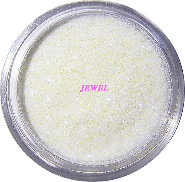 初心者液化するウェイトレス【jewel】 超微粒子ラメパウダーたっぷり2g入り 12色から選択可能 レジン&ネイル用 (パールホワイト)