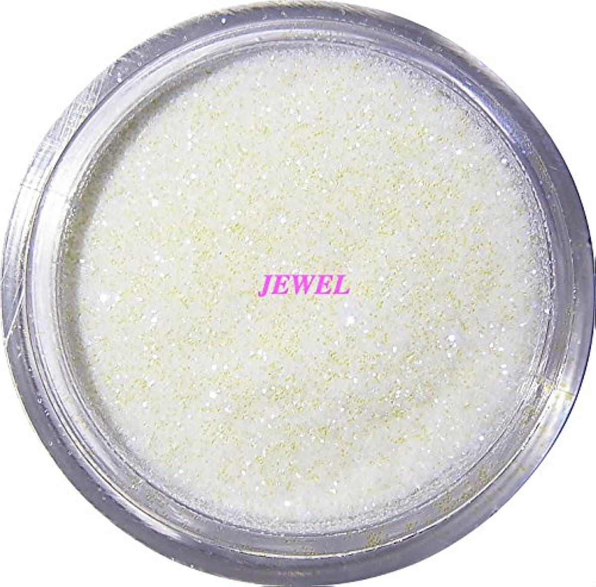 ジャーナリストマーキング確かめる【jewel】 超微粒子ラメパウダー(白/パールホワイト) 256/1サイズ 2g入り グリッター レジン&ネイル用