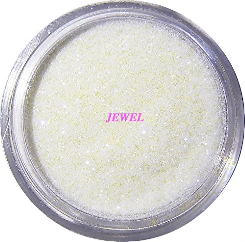 パーチナシティ食べる注文【jewel】 超微粒子ラメパウダー(白/パールホワイト) 256/1サイズ 2g入り グリッター レジン&ネイル用