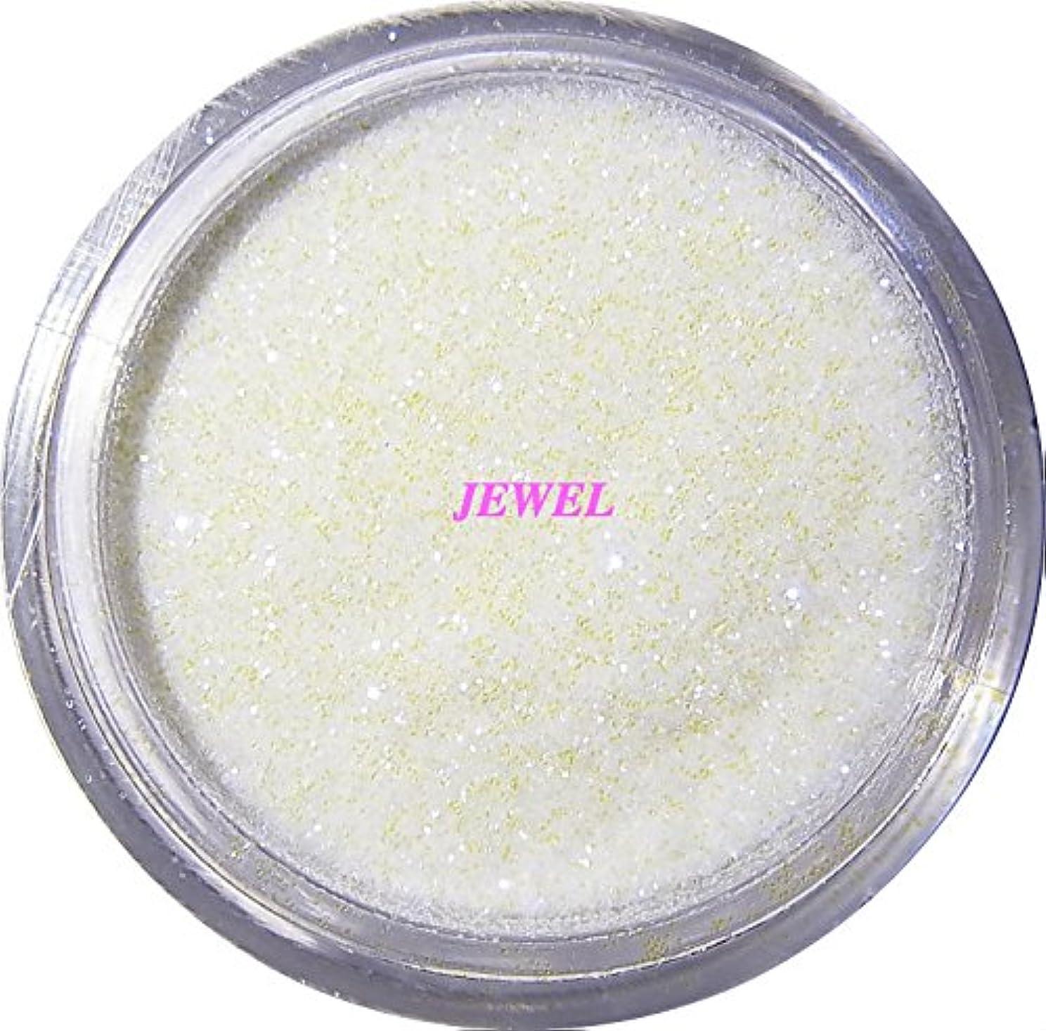 恒久的細心の化学薬品【jewel】 超微粒子ラメパウダーたっぷり2g入り 12色から選択可能 レジン&ネイル用 (パールホワイト)