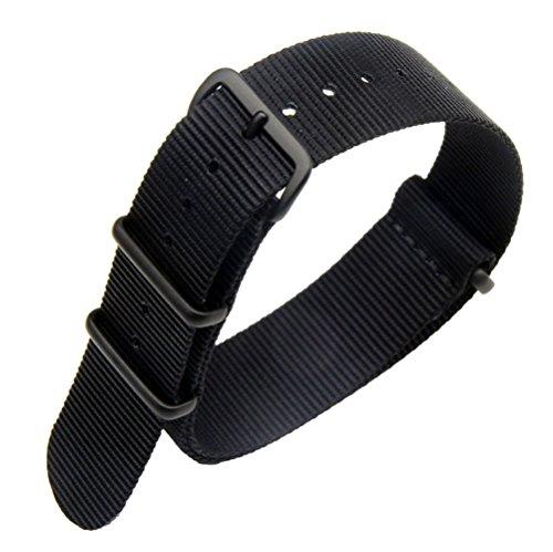 AUTULET 20mm in un unico pezzo cinturini per orologi stile NATO nylon...