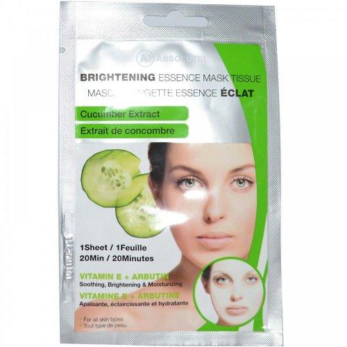 Absolute New York Brightening Essence Gesichtsmaske - gurke, 1er Pack (1 x 1 Stück)