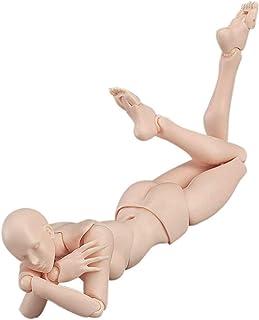 デッサン 人形 女 関節人形 可動式 リアル 女性 完成 ドール完成 モデル