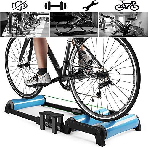 GNZY Fiets Oefening Trainer Indoor Fiets Turbo Trainer Fiets Oefening Rollers Oefening Fitness Training Gebruikt voor 24-29 Inch Mountainbike (700C Road Bike) Lage Geluid Verstelbare Beugel