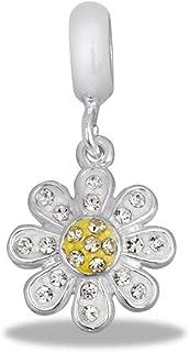 CZ Daisy - Jewelry Bracelet Memories Beads DB56-11-DAV