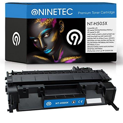 Original NINETEC NT H505X Toner Kartusche Black kompatibel mit HP CE505X 05X