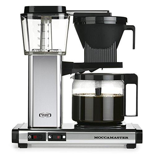 Moccamaster Filter Kaffeemaschine KBG 741 AO, 1.25 Liter, 1520 W, Polished Silver