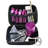Snuff Kit with Grinder,11Pcs Portable Snuff Bullet...