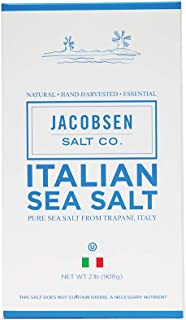 Jacobsen Salt Co. Pure Italian Trapani Kosher Sea Salt, 2 Pound