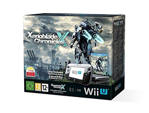 Nintendo Wii U Premium Pack schwarz, 32GB inkl. Xenoblade Chronicles X