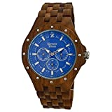 Orologio legno Wood Watch Green Time by ZZERO - Multifunction - ZW039B