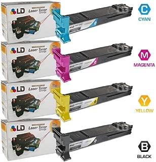 LD Compatible Toner Cartridge Replacement for Konica Minolta MagiColor 4650 High Yield (Black, Cyan, Magenta, Yellow, 4-Pack)