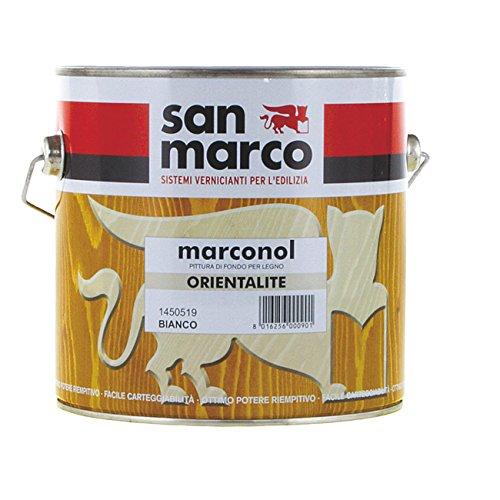 Zementit in unteren Matt White San Marco 2,5 Liter.
