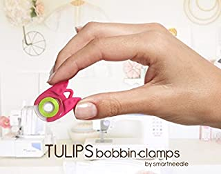 شراء The Original TULIPS 'BOBBIN HOLDER / CLAMP'...Keep bobbin thread tails under control' (12 Pieces)