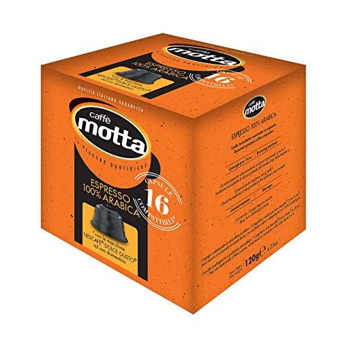 CAFFE' MOTTA Capsule Dolce Gusto NESCAFE' Espresso Arabica No CIALDE BORBON (96)