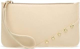 JAUROUXIYUJI Women's Hand-held Small Square Bag Trend Fashion Wild Women's Clutch Bag (Color : Khaki)