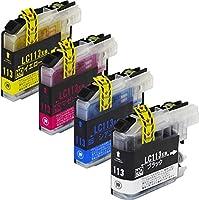 【インクのチップス】 LC113 互換インク 4色セット 【 LC113-4PK 互換】ISO14001/ISO9001認証工場生産商品 残量表示対応ICチップ 1年保証 対応機種 : ブラザー DCP-J4210N / DCP-J4215N / MFC-J4510N / MFC-J4910CDW / MFC-J6570CDW / MFC-J6573CDW / MFC-J6970CDW / MFC-J6973CDW