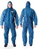 3M P4500AL - 4500 Prenda protección en polipropileno, azul, talla L