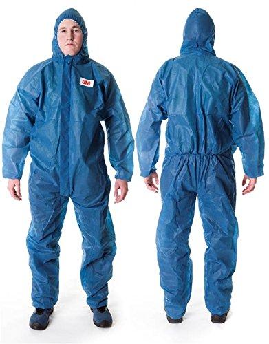 3M beschermend pak 4500, blauw, Large, blauw, 1