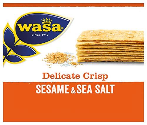 Wasa Knäckebrot Delicate Crisp Sesam & Meersalz, 190 g