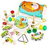 BeebeeRun Instrumentos Musicales para Infantil, 23PCS Juguetes...