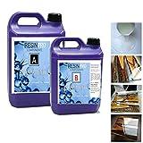 Resin Pro 793579985228 32 kg 32 kg resina epoxi Ultra Transparente, efecto...