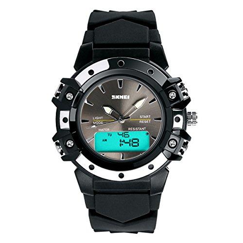 Lancardo Reloj Deportivo Impermeable de 5ATM Multifunción...
