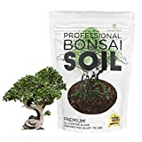 Bonsai Soil Premium All Purpose Blend   Pre-Mixed Ready to Use for Plant Support and Fast Drainage   Lava, Limestone Pearock, Calcined Clay and Pinebark   Extra Large 2.2 Quarts   Made in USA