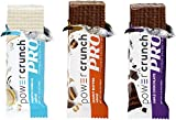 Power Crunch Protein Energy Bar Pro,Variety Sampler Pack - Includes 3 Flavors, 9 Pack