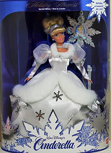 Mattel 1996 Disney Holiday Princess Cinderella Barbie