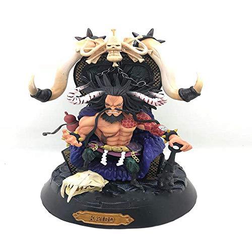 SXXYTCWL One Piece Baido Kaido Vier Kaiser animierte Figur Modell Statue Dekoration 23CM jianyou