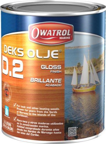 Owatrol Deks Olje 'D2' Nagellack Marineblau 2,5l