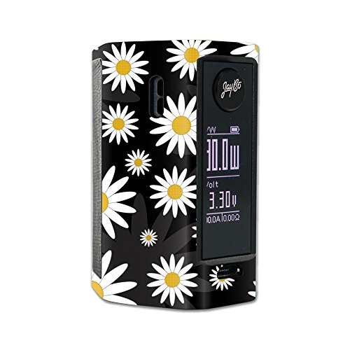 MightySkins Skin Compatible with Wismec Reuleaux RX Mini – Daisies | Protective, Durable, and Unique Vinyl Decal wrap Cover | Easy to Apply, Remove, and Change Styles | Made in The USA