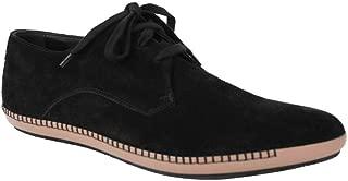 Men's Black Suede Pointed Toe Dress Shoe 512171 1000 (41 EU / 8 US)