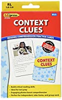 (Context Clues, Yellow) - Edupress Reading Comprehension Practise Cards, Context Clues, Yellow Level (EP62992)