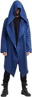 HX fashion Cappotto Leggero Uomo Autunno Inverno Cappotto Casual Con Cappuccio Taglie Comode Trench Giacca a Maniche Lungh...