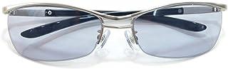 伊達メガネ サングラス ちょい悪 サングラス オラオラ系 強面 薄い色 ライトカラーレンズ 伊達めがね だてめがね メンズ レディース UVカットレンズ カラーレンズサングラス